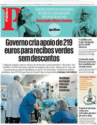 capa Público de 8 maio 2020