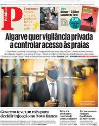 capa Público de 9 maio 2020