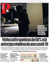 capa Público de 10 maio 2020