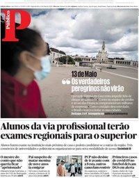capa Público de 11 maio 2020