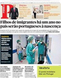 capa Público de 12 maio 2020