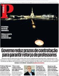 capa Público de 13 maio 2020