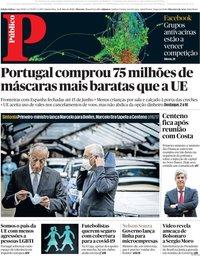 capa Público de 14 maio 2020