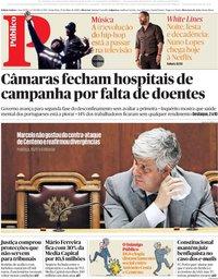 capa Público de 15 maio 2020