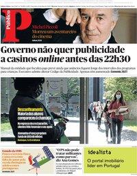capa Público de 19 maio 2020