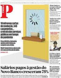 capa Público de 20 maio 2020