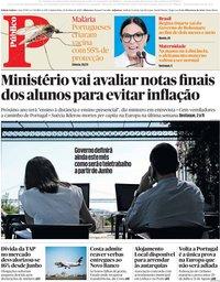 capa Público de 21 maio 2020