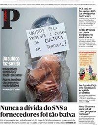capa Público de 22 maio 2020