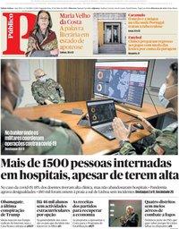 capa Público de 25 maio 2020