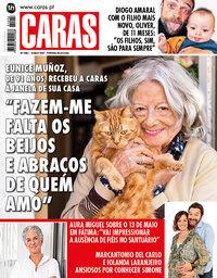 capa Revista Caras de 14 maio 2020