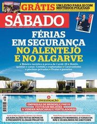 capa Revista Sábado de 7 maio 2020