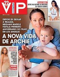 capa VIP de 13 maio 2020