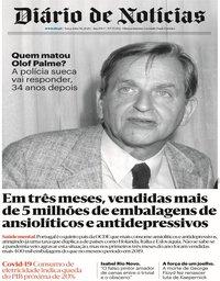 capa Diário de Notícias de 9 junho 2020