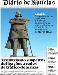 capa Diário de Notícias de 16 junho 2020