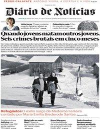 capa Diário de Notícias de 21 junho 2020