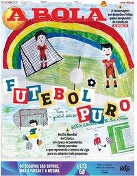 capa Jornal A Bola de 1 junho 2020