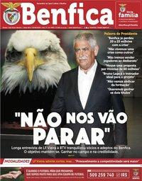 capa Jornal Benfica de 5 junho 2020