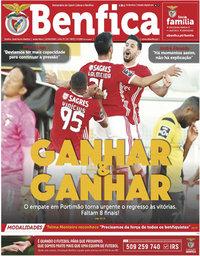 capa Jornal Benfica de 12 junho 2020