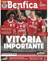 capa Jornal Benfica de 19 junho 2020