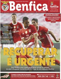 capa Jornal Benfica de 26 junho 2020