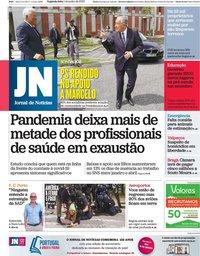 capa Jornal de Notícias de 1 junho 2020