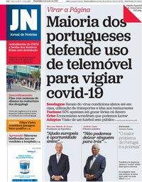 capa Jornal de Notícias de 2 junho 2020