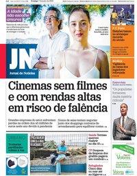 capa Jornal de Notícias de 7 junho 2020