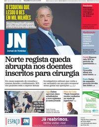 capa Jornal de Notícias de 9 junho 2020