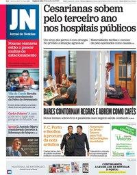 capa Jornal de Notícias de 15 junho 2020