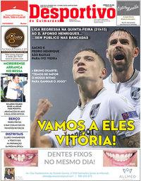 capa Jornal Desportivo de Guimarães de 2 junho 2020