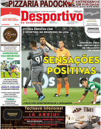 capa Jornal Desportivo de Guimarães de 9 junho 2020