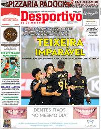 capa Jornal Desportivo de Guimarães de 16 junho 2020