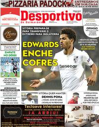 capa Jornal Desportivo de Guimarães de 23 junho 2020