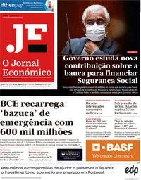 capa Jornal Económico de 5 junho 2020