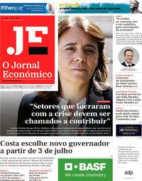 capa Jornal Económico de 12 junho 2020