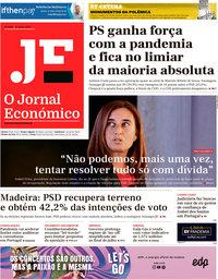 capa Jornal Económico de 19 junho 2020