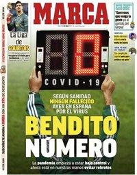 capa Jornal Marca de 2 junho 2020