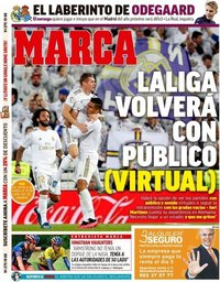capa Jornal Marca de 5 junho 2020