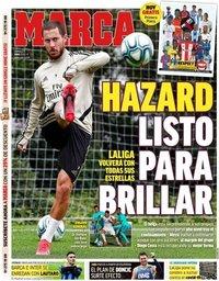 capa Jornal Marca de 7 junho 2020