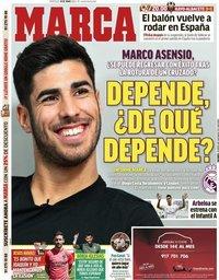capa Jornal Marca de 10 junho 2020