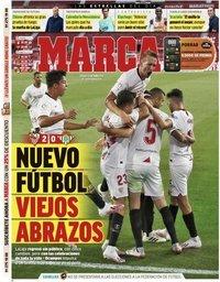 capa Jornal Marca de 12 junho 2020