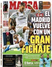 capa Jornal Marca de 14 junho 2020