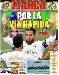 capa Jornal Marca de 15 junho 2020