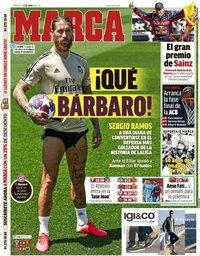 capa Jornal Marca de 17 junho 2020