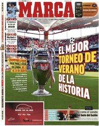 capa Jornal Marca de 18 junho 2020