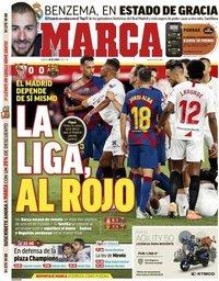 capa Jornal Marca de 20 junho 2020