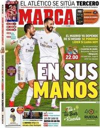 capa Jornal Marca de 21 junho 2020