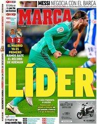 capa Jornal Marca de 22 junho 2020