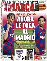 capa Jornal Marca de 24 junho 2020