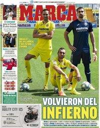 capa Jornal Marca de 26 junho 2020